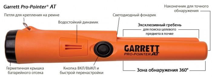 Пинпоинтер garrett pro-pointer at схема