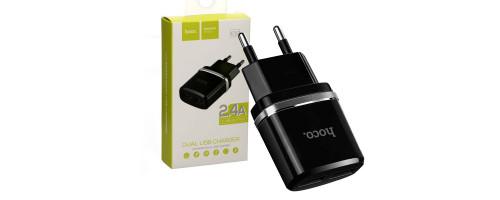 Зарядное устройство Hoco C12 USB